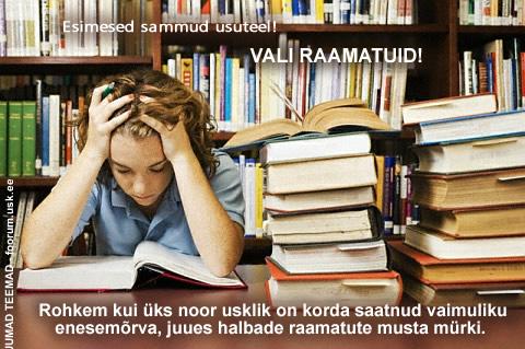 Esimesed_sammud_vali_raamatuid_